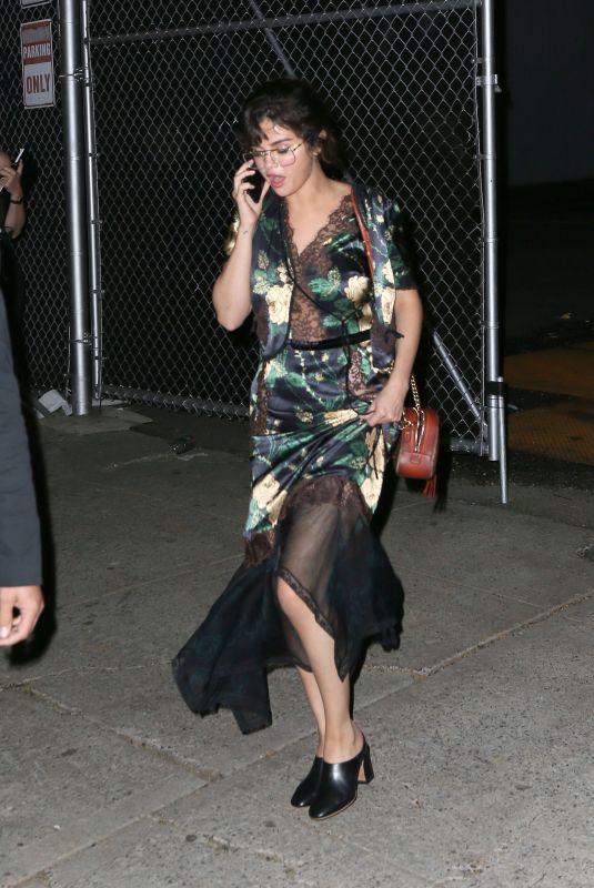 SELENA GOMEZ Leaves Prada Event in New York 05/04/2018
