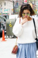 SELENA GOMEZ Out and About in New York 05/04/2018