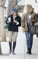 SELMA BLAIR and MONET MAZUR Out for Coffee in Los Angeles 05/24/2018