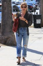 SELMA BLAIR Out and About in Los Angeles 05/03/2018