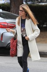 SELMA BLAIR Out and About in Studio City 05/01/2018