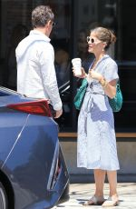 SELMA BLAIR Out for a Coffee in Studio City 05/07/2018