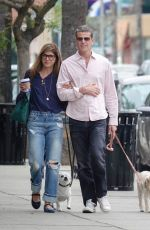SELMA BLAIR Out for Lunch in Los Angeles 05/23/2018