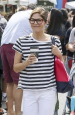 SELMA BLAIR Shopping at Farmers Market in Los Angeles 05/27/2018