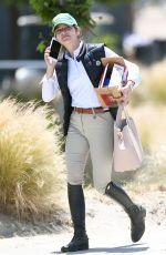 SELMA BLAIR Watching Horseback Riding in Los Angeles 05/17/2018