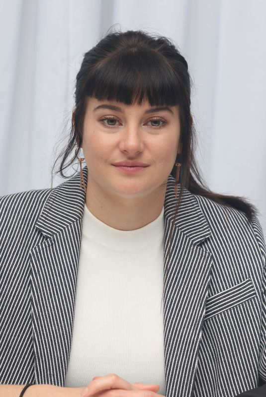 SHAILENE WOODLEY at Adrift Press Conference in Pasadena 05/18/2018