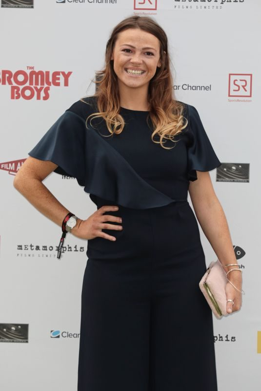SHANA SWASH at Bromley Boys Premiere in London 05/24/2018
