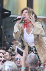 SHANIA TWAIN Performs on Today Show Concert Series in New York 04/30/2018