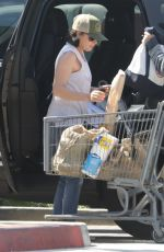 SHANNEN DOHERTY Shopping at Trancas Market in Malibu 04/29/2018