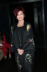 SHARON OSBOURNE at 3rd Annual Rock the Red Music Benefit in Hollywood 05/17/2018