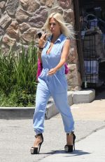 SHAUNA SAND Out and About in Malibu 05/26/2018