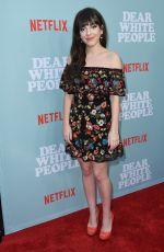 SHERIDAN PIERCE at Dear White People Premiere in Los Angeles 05/02/2018