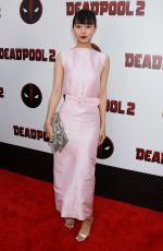 SHIORI KUTSUNA at Deadpool 2 Special Screening in New York 05/14/2018