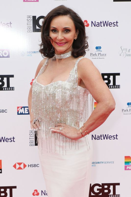 SHIRLEY BALLAS at LGBT Awards 2018 in London 05/11/2018