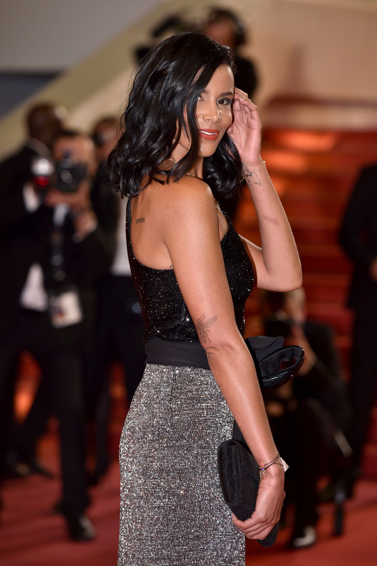 SHY'M at Leto Premiere at 71st Cannes Film Festival 05/09 ...
