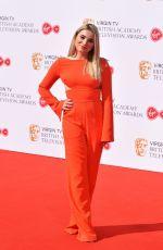 SIAN WELBY at Bafta TV Awards in London 05/13/2018