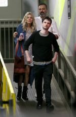 SIENNA MILLER and Tom Sturridge Out in New York 05/05/2018
