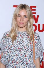 SIENNA MILLER at Peace for Mary Frances Opening Night Party in New York 05/23/2018