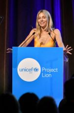 SIENNA MILLER at Unicef Project Lion Launch 2018 in New York 05/30/2018