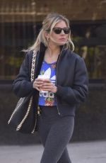 SIENNA MILLER Heading to a Gym in New York 05/01/2018