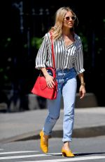 SIENNA MILLER in Jeans Out in New York 05/23/2018