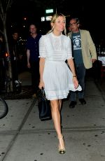 SIENNA MILLER Leaves Bowery Hotel in New York 05/03/2018
