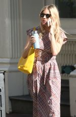 SIENNA MILLER Out and About in New York 05/02/2018