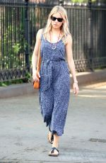 SIENNA MILLER Out and About in New York 05/15/2018