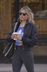 SIENNA MILLER Out in New York 05/01/2018