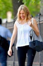 SIENNA MILLER Out in New York 05/25/2018