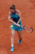 SIMONA HALEP at French Open Tennis Tournament in Paris 05/30/2018
