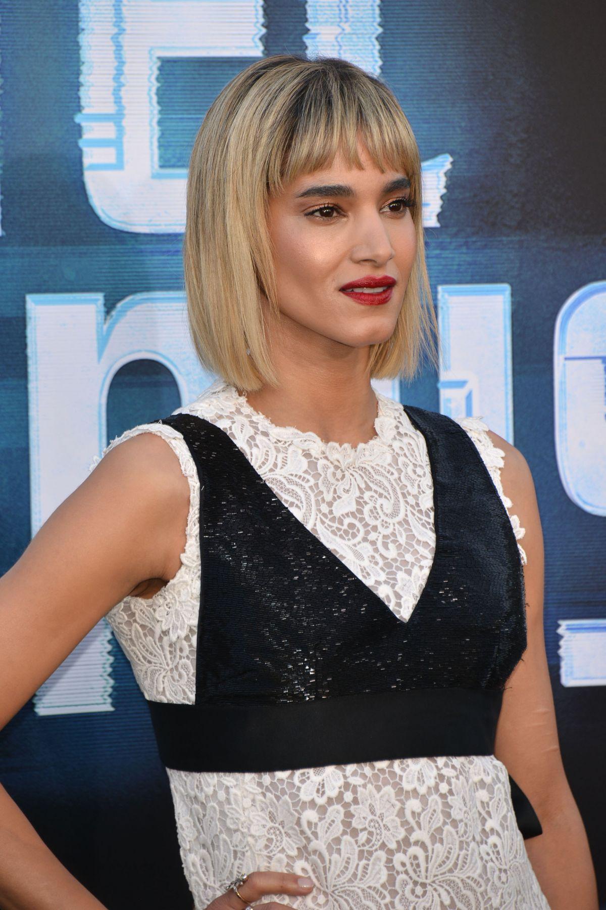 SOFIA BOUTELLA At Hotel Artemis Premiere In Los Angeles 05 19 2018