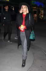 SOFIA BOUTELLA Night Out in Hollywood 05/23/2018