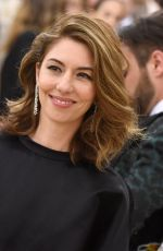 SOFIA COPPOLA at MET Gala 2018 in New York 05/07/2018