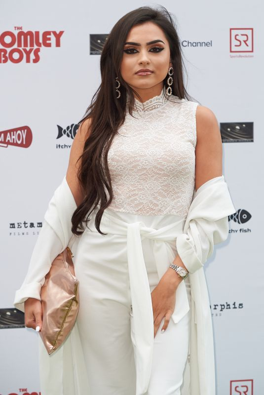 SOFIA FILIPE at Bromley Boys Premiere in London 05/24/2018