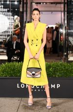 SOFIA RESING at Longchamp Fifth Avenue Store Opening in New York 05/03/2018