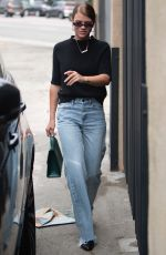 SOFIA RICHIE Leaves Zimmermann Boutique on Melrose Place 04/30/2018