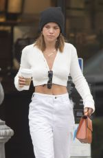 SOFIA RICHIE Out for Coffee in Calabasas 05/01/2018