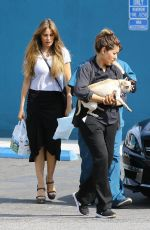SOFIA VERGARA at Vet Office in Los Angeles 05/18/2018