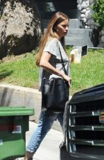 SOFIA VERGARA Out and About in Hollywood 05/03/2018