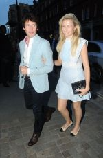 SOFIA WELLESLEY and James Blunt Leaves Kylie Minogue's Birthday Party in London 05/27/2018