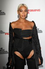 SOLANGE KNOWLES at New School 70th Annual Parsons Benefit in New York 05/21/2018
