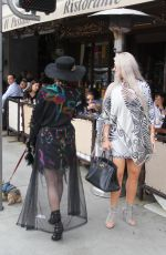 SOPHIA VEGAS and PHOEBE PRICE Out for Lunch in Beverly Hills 05/20/2018