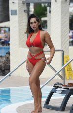 SOPHIE KASAEI in Bikini at a Pool in Bali 05/06/2018