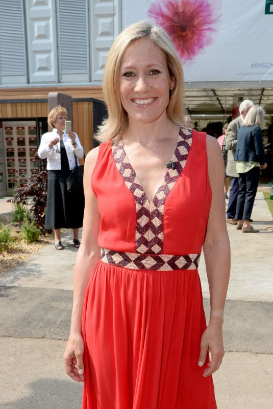 SOPHIE RAWORTH at Chelsea Flower Show in London 05/21/2018