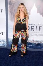 SOPHIE REYNOLDS at Adrift Premiere in Los Angeles 05/23/2018