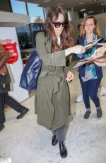STACY MARTIN Arrives at Nice Airport 05/11/2018