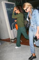 STELLA MAXWELL and IRINA SHAYK Arrives at Nice Airport 05/09/2018