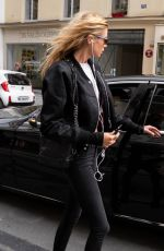 STELLA MAXWELL Leaves Her Hotel in Paris 05/02/2018