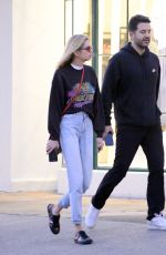 STELLA MAXWELL Out and About in Los Angeles 05/01/2018